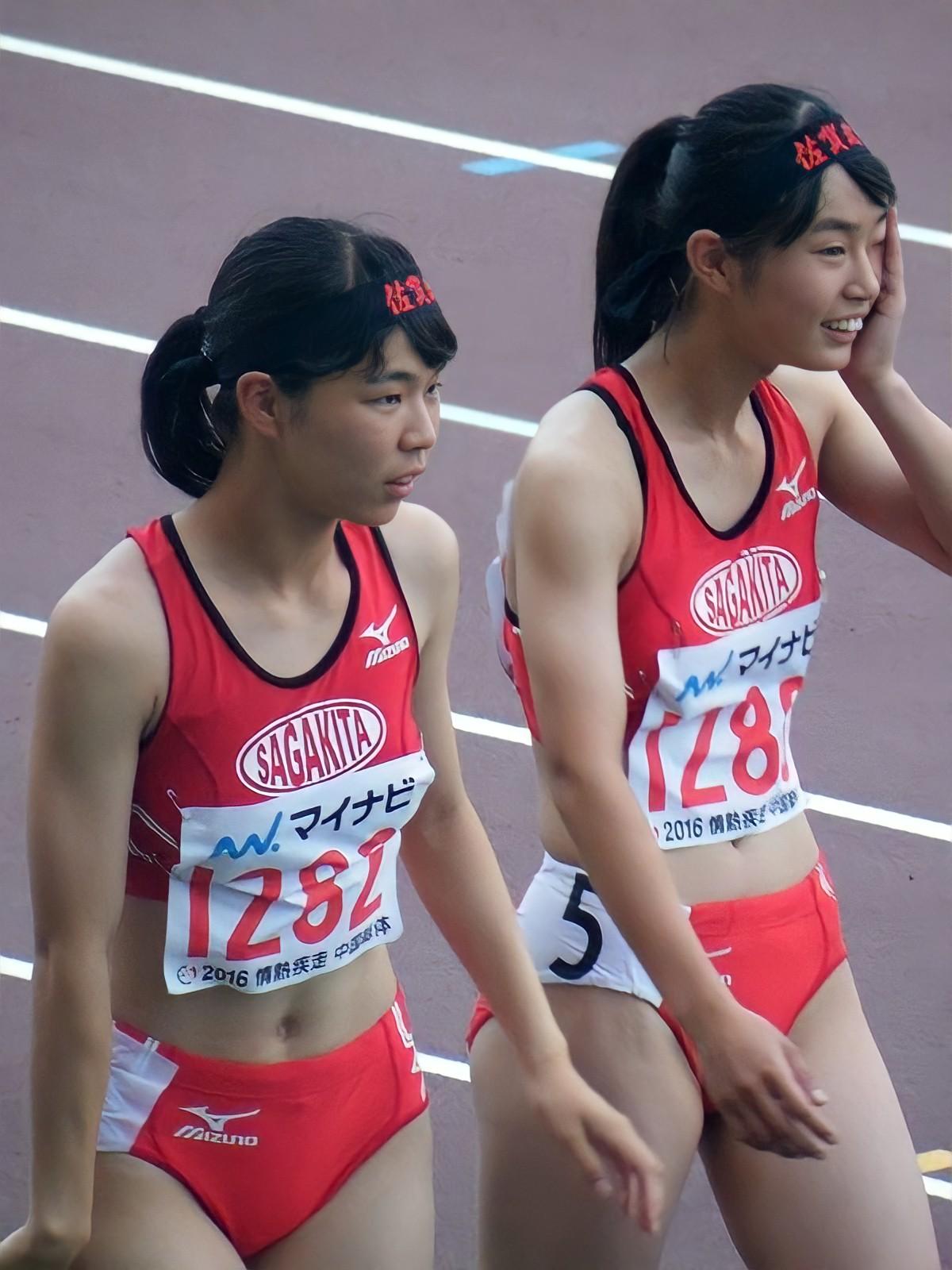 佐賀北高校 女子陸上部 ブルマ レーシングショーツ